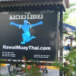 Rawai Muay Thai Billboard